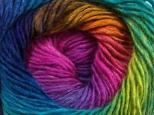 Primadonna Rainbow 40633 Ice Fine Baby Weight Self-Striping Wool Acry Yarn 100gr