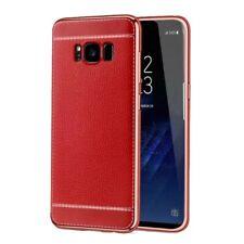 Samsung Galaxy A5 2017 Couverture Téléphone Sac de Protection Étui Rouge