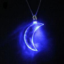 Blue Moon LED Light Magnetic Necklace Unisex