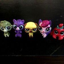 Lot 5x Littlest pet shop monkey kangaroo angry dog animals LPS figure toy gift