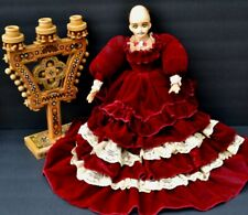 Creepy Horror Doll  Scary Zombie Haunted   Ooak Gothic Art for display