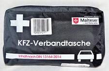 KFZ Verbandstasche Malteser DIN 13164-2014 bis 02.2022 schwarz Verbandskasten