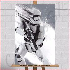 Star Wars Storm trooper Stormtrooper Canvas Print Picture Paint Splash Splatter