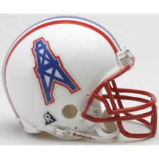 New listing Houston Oilers Throwback VSR4 Riddell Mini Helmet New in box