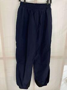 Navy COLUMBIA Shell Pants Ski Snowboard Snow Suit Nylon vtg 90s WOMENS Large