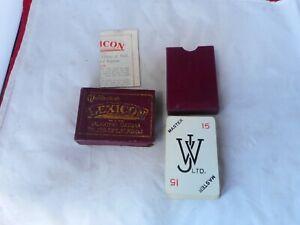 "VINTAGE WADDINGTON'S""LEXICON""CARD GAME with INSTRUCTION LEAFLET"
