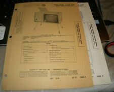 CROSLEY TELEVISION RECEIVER - 4 MODELS (SAMS PHOTOFACT 317-4)