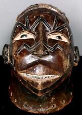 Old Tribal Large Makonde Lipico Helmet  Mask      -- Tanzania  BN 53
