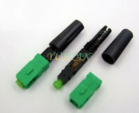 100pcs SC/APC Optic Fiber Fast Connector FTTH Embedded Quick Connector
