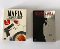 Al Pacino scarface dvd Two-Disc Anniversary edition Mafia the inside story 5DVDs