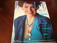 Rivista Magazine Elle France 29 Mars 1976
