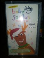 Baby Einstein: Baby Santa's Music Box DISNEY VHS EDUCATIONAL RETRO FREE SHIPPING