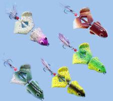 3PCS Frog Crankbait Fishing Lures Hard Plastic Baits Spinners Bait 12g Carp Pike
