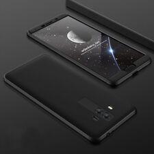 Full Cover für Huawei 360° Handy Tasche Schutz Hülle Case Bumper Etui Glas Folie