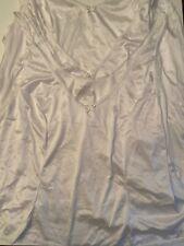 Vassarette Women's *3Pack*  Nylon Tailored Camisole 17809 White 3XL New w/o Tags