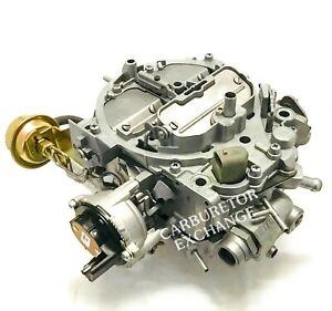 1985~1986 Chevrolet Pickup Rochester Quadrajet Carburetor V8