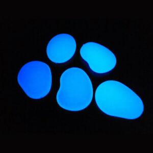 Drops Sassi ciottoli luminosi di resina fotoluminescente colore Blu Sky made ITA