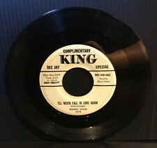 RONNY WADE - I'LL NEVER FALL IN LOVE AGAIN (KING 5078 PROMO ROCKABILLY 45)