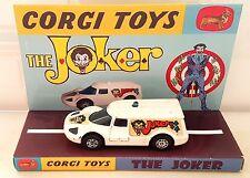 CORGI Juniors Batman THE JOKER Diecast JOKERMOBILE Model Car & Custom Display [c