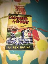 RARE WW2 MIGHTY MIDGET BOOK #28 GIVEN TO CHILDREN TO READ IN AIR RAID SHELTERS
