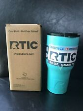 RTIC 20 oz tumbler with lid - NIB - Teal - Free Shipping!