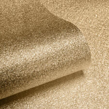 Couture By Muriva Sparkle Gold Glitter Metallic Textured Wallpaper (701354)