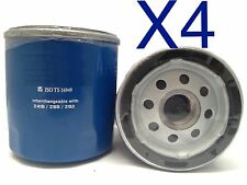 4X Oil Filter Suits Z418 SUZUKI IGNIS 1.3L - 2005-2010