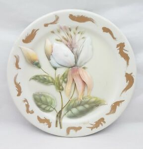 Maddock china plate applied flower design