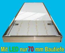 Leuchtkasten flat mit LED 2250x800x70mm Leuchtreklame Leuchtwerbung Leuchtbox