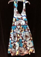 Speechless Girls Sundress Dress Size 12 MOD Floral Design Vintage Inspired