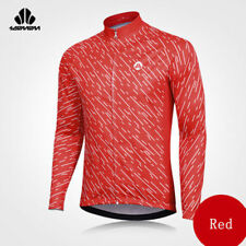 Sobike Mens Cycling Jersey Long sleeve Winter Thermal Cold Wear Cycling Jacket