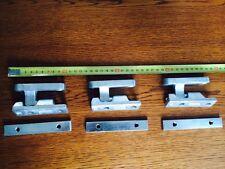3x Scharnier  Edelstahl für Alu - Bordwand  Pkw - Anhänger - Bracken
