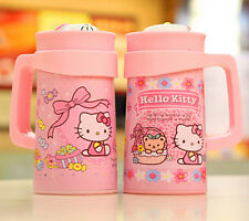 Brand New Hello Kitty Stainless Steel Vacuum Cup Warm Coffee Mug Tea Cup  500ml