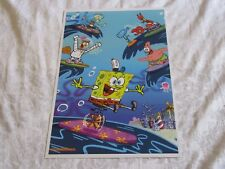 SDCC 2018 Exclusive Print Poster Nickelodeon Spongebob Squarepants Unsigned