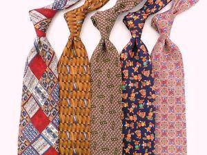 Lot of 5 Fabulous Silk Ties