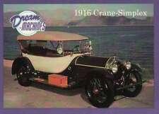 1916 Crane-Simplex, Imperial Palace Coll Las Vegas Car Trading Card Not Postcard