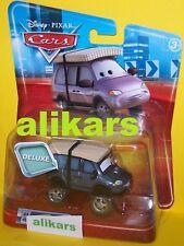 MN - LEROY TRAFFIK with SNOW TIRES - #8 Deluxe Disney Pixar Cars car vehicle