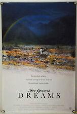AKIRA KUROSAWA'S DREAMS ROLLED ORIG 1SH MOVIE POSTER MARTIN SCORSESE (1990)