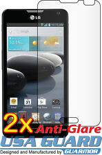 2x LG Optimus F6 D600 MS500 Anti-Glare LCD Screen Protector Guard Shield Cover