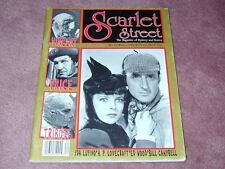 SCARLET STREET magazine # 13, Vincent Price, Ida Lupino