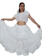 Women  Flamenco Gypsy Spanish 12 YARD SKIRT Tribal BELLY DANCE New