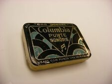 Phonograph Victrola Gramophone Needle Tin Columbia - Punte Sonore Milano - Empty