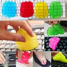 Sale~Magic Sticky Clean Glue Gum Silica Gel Keyboard Dust Dirt Cleaner absorbing