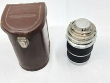 Voigtlander Super-Dynarex 1:4 / 135 COMPUR  Camera Lens & Cap  Case West Germany