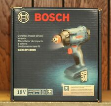 "BOSCH GDX18V-1600N 1/4"" HEX/1/2"" SQUARE DRIVE IMPACT DRIVER BARE TOOL"