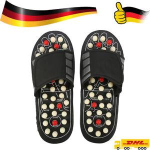 1Paar Sandalen Massage Hausschuhe Sandalen Füße Reflexzonenmassage DHL