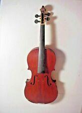 Antonius Stradivarius Model Antique Violin Made in Czechoslovakia #24