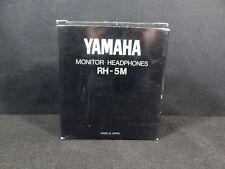 Yamaha RH-5M Original 1990s Vintage Stereo Monitor Headphones In Original Box