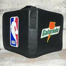 1990's Vintage Gatorade NBA CD Holder Portable 6 CDs Case Organizer Wrist Strap