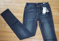 BONOBO Jeans pour Femme W 26 - L 32 Taille Fr 36 SLIM FIT NEUF (Réf #Y165)